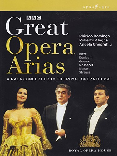 Great Opera Arias [DVD] [2010] [NTSC]