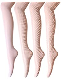 262c1989b9f8e Women's Fishnet Tights Stockings - High Waist Sexy Fishnets Pantyhose for  Party