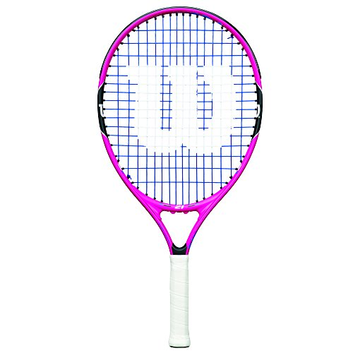 Wilson Junior Burn 19 Tennis Racquet, Pink