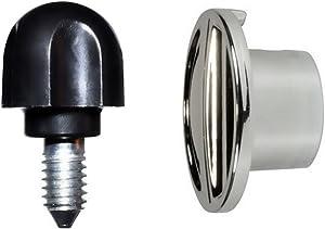 Univen Attachment Cap Hub and Attachment Knob Screw fits KitchenAid Mixers