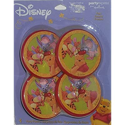 2 Each: Winnie the Pooh Party Favor Spinner Tops (Pack of 4): Toys & Games [5Bkhe0804267]