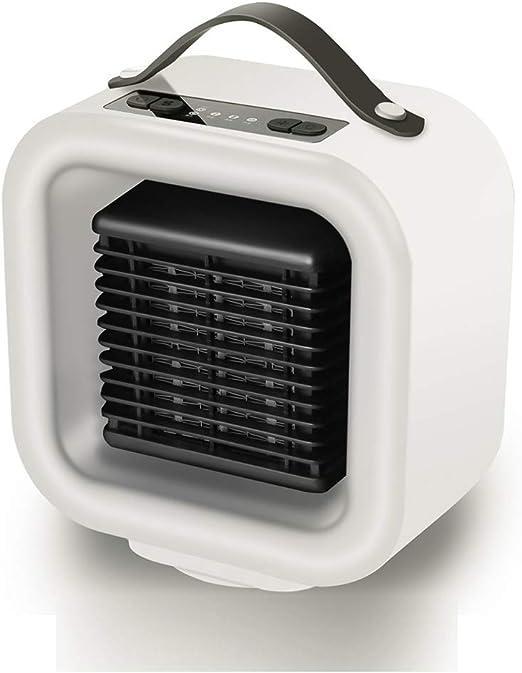 Fngdnb Calentador de Espacio portátil Personal Mini Ventilador ...