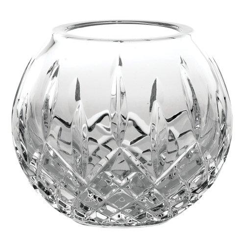 Full Lead Crystal Vase (Galway Longford Giftware 4-Inch Rose Bowl)