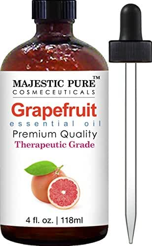 Grapefruit Essential Oil from Majestic Pure, 4 fl oz