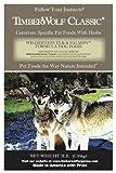TimberWolf Wilderness Elk Canid Formula Dry Dog Food