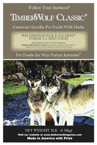 TimberWolf Wilderness Elk Canid Formula Dry Dog Food