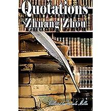 Quotations by Zhuang Zhou