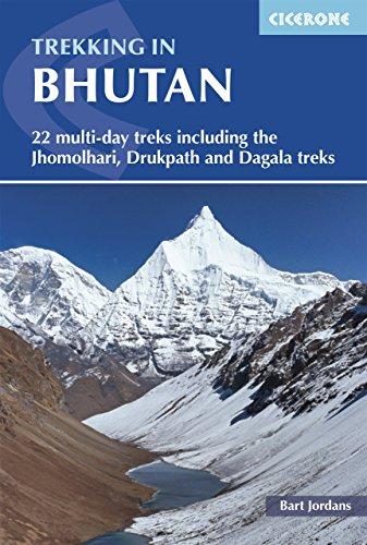 Amazoncom Trekking In Bhutan 22 Multi Day Treks Including The