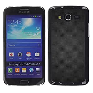 Paccase / SLIM PC / Aliminium Casa Carcasa Funda Case Cover - Grid texture - Samsung Galaxy Grand 2 SM-G7102 SM-G7105