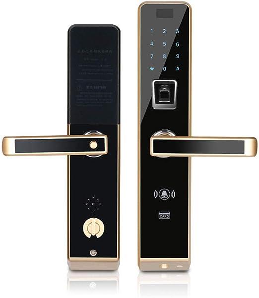 Biométrico huella digital cerradura Bluetooth táctil sin llave ...