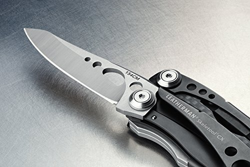 LEATHERMAN - Skeletool CX Lightweight Multitool with Pliers, Knife, and Bottle Opener, Stainless Steel by LEATHERMAN (Image #4)