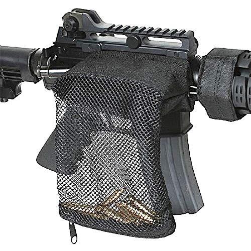 Higoo Brass Catcher, Tactical Cartridge Shell Catcher Bullet Nylon Mesh Bag for AR-15, Black