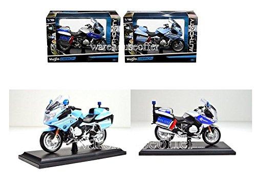 Amazon Com 1 18 Authority Bmw R 1200 Rt 2 Styles Polizei