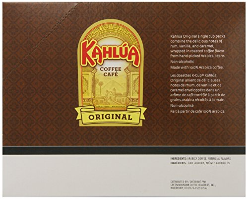 Caffeine In Keurig Kahlua Coffee