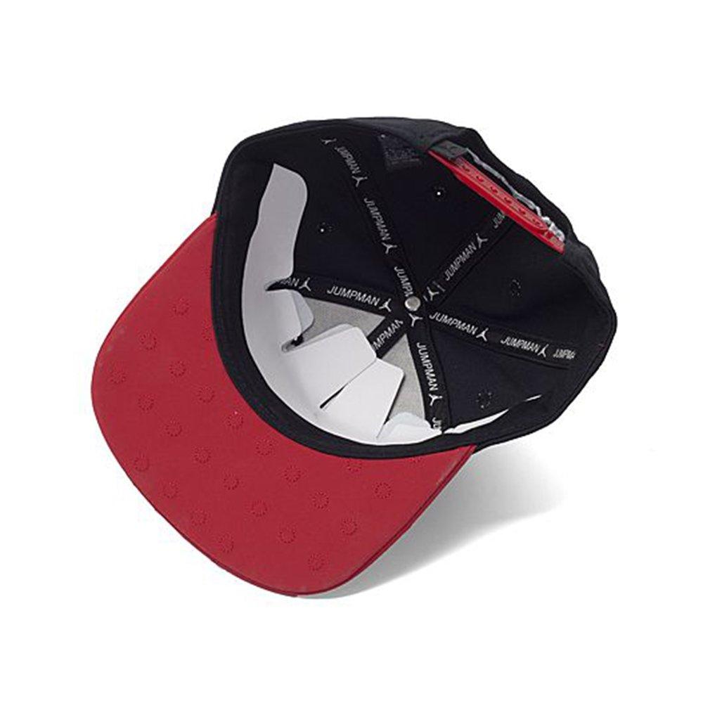 new products 07f81 96aca Amazon.com  Nike Mens Jordan Retro 13 Snapback Hat (Adjustable, Black Red)   Sports   Outdoors
