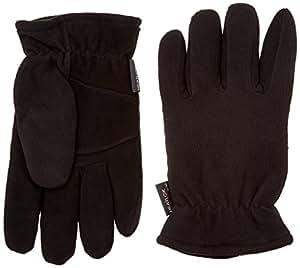 Heatlok Thermal Gloves Split Deerskin Palm (X-Small, Black)