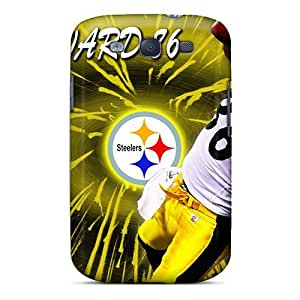 Cute High Quality Galaxy S3 Pittsburgh Steelers Case by icecream design