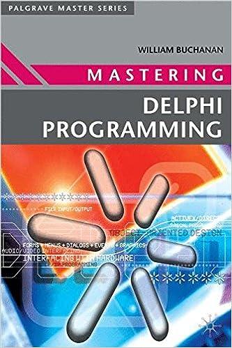 Mastering Delphi Programming (Palgrave Master Series): William ...