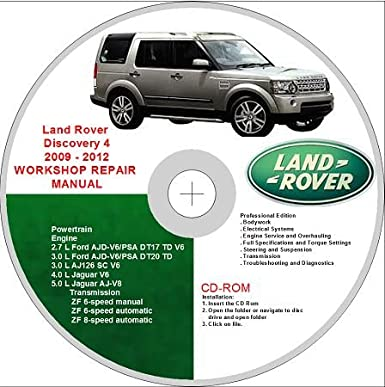 Land Rover Discovery Manual Pdf