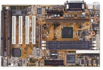 ASUS P2L97 PENTIUM 2 MOTHERBOARD 3 DIMM, 1 AGP, 5 PCI, 2 ISA, 2 - Asus Agp Motherboard