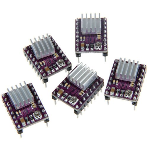 5x StepStick DRV8825 Stepper Motor Driver Module for 3D Printer Reprap RP ()