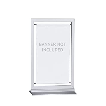 Amazon.com : Vispronet - Small Banner Frame - Made to Fit 4.3in x ...
