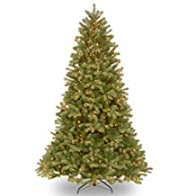"National Tree 7 1/2 Foot ""Feel-Real"" Downswept Douglas Fir Tree with 750 Low Voltage Dual Color LED Lights (PEDD3-312LD-75S)"
