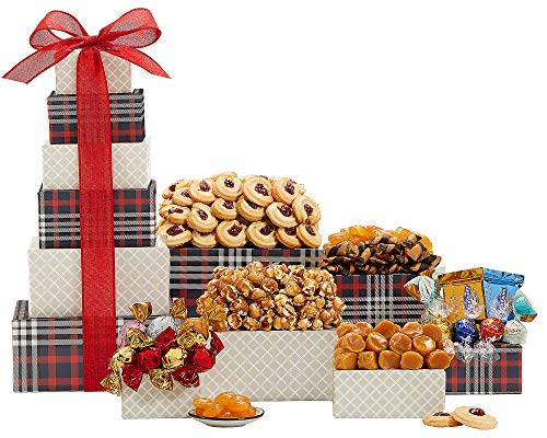 Wine Country Gift Baskets Gift Tower of Chocolate and...