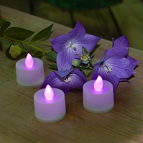 LumaBase 80112 12 Count Battery Operated Tea Lights
