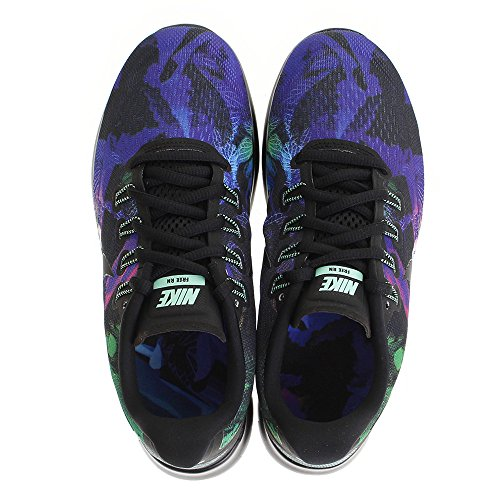 Nike Womens Wnns Free Rn 2017 Zonnewende, Zwart / Zwartgroene Gloed, 6,5 M Us