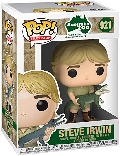 Funko Pop! TV Crocodile Hunter - Steve Irwin Chase (Stlyes May Vary)
