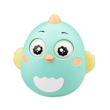 50c9b7df2149ff Creacom だるま ボール おもちゃ ベル 知育 学習 知育玩具赤ちゃん 幼児 子ども 噛むおもちゃ 不安 ストレス