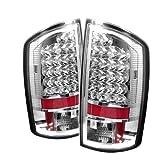 Spyder Auto Dodge Ram 1500/2500/3500 Chrome LED Tail Light