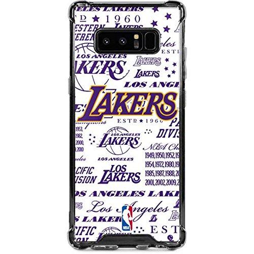 (Skinit LA Lakers Historic Blast Galaxy Note 8 Clear Case - Skinit Clear Case - Transparent Galaxy Note 8 Cover)