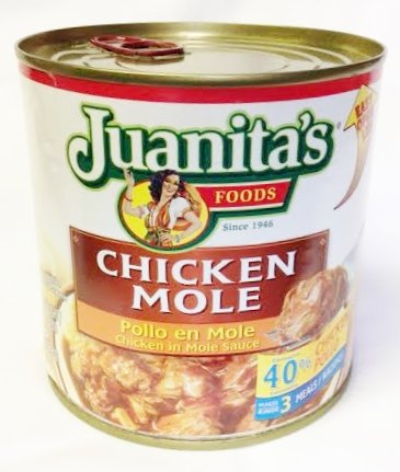 Juanita's Chicken in Mole Sauce 25 (Chicken Mole)