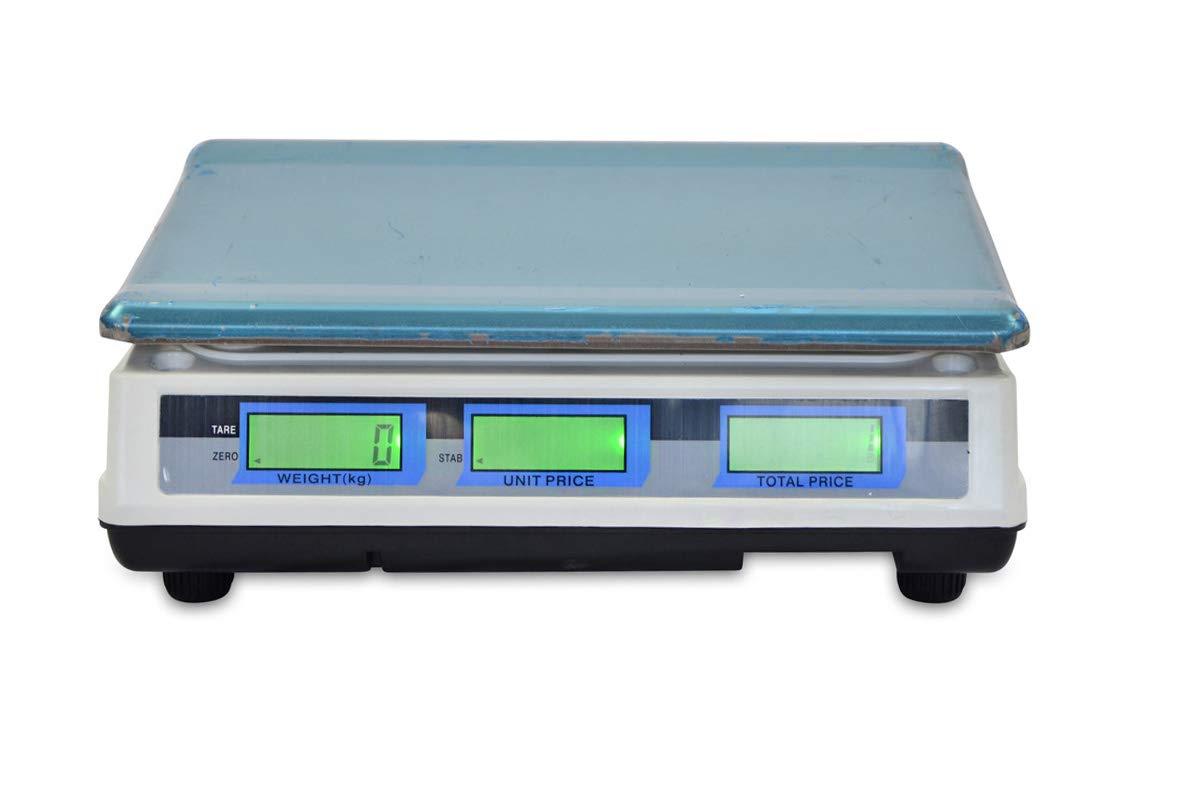 Bascula Industrial De Plataforma 300Kg Balanza Plataforma de 40x50Cm Peso /…