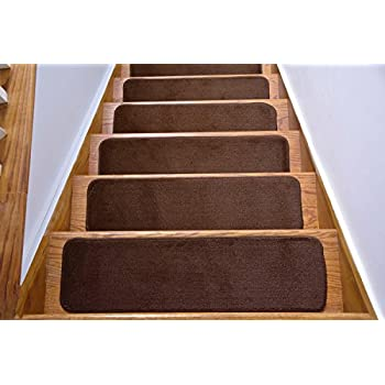 Comfy Collection Stair Tread Treads Indoor Skid Slip Resistant ...