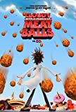 CLOUDY WITH A CHANCE OF MEATBALLS MOVIE POSTER 2 Sided ORIGINAL Advance 27x40