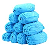 100 Pack Shoe Covers - Disposable Hygienic Boot Cover for Medical, Construction, Workplace, Indoor Carpet Floor Protection by Thetis Homes- One Size Fits Most