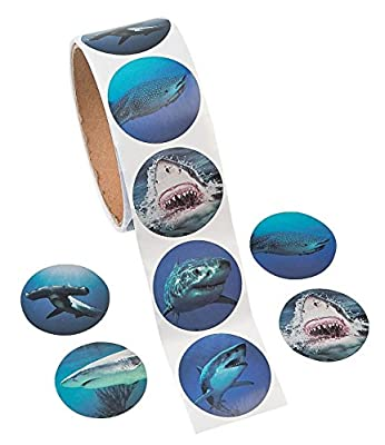 Photo Realistic Shark Stickers