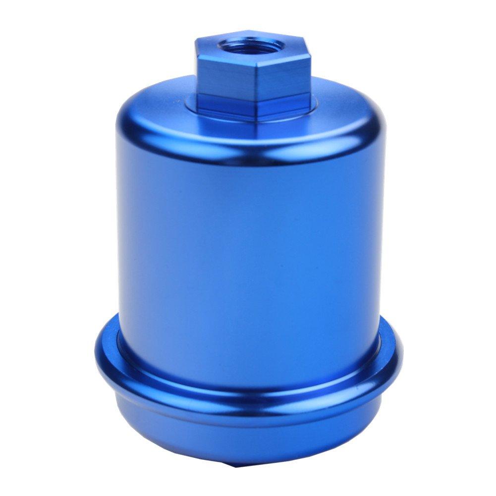 Dewhel Jdm Racing Sport High Flow Volume Fuel Filter 99 Acura Tl Honda Civic Accord Integra Blue Automotive