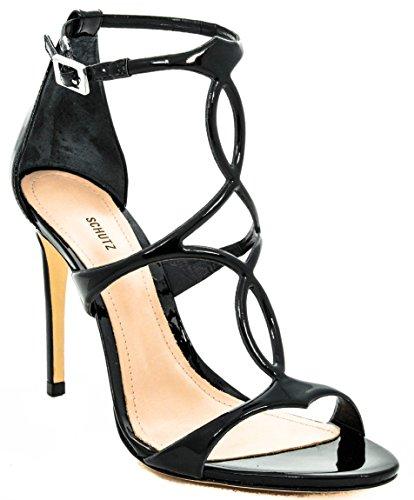 Scarpe Tacco Donna Schutz 10 S202400026 Pe18 Nero Black vIdqRw
