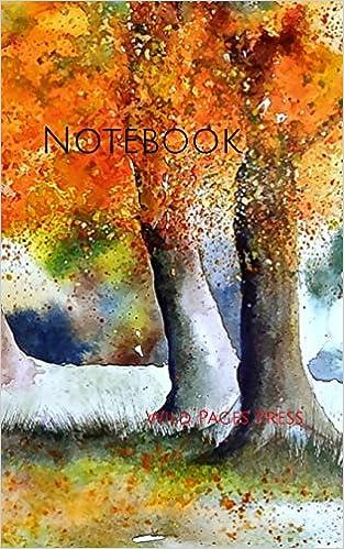 Amazon Com Notebook Watercolor Painting Autumn Art Nature Artist Drawing Paint Paints Paintings Oil Pastel 9781796707335 Wild Pages Press Books