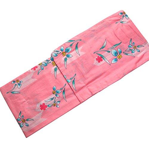 オープニング本当に狂う浴衣 レディース ピンク 女性 仕立て上がり フリーサイズ