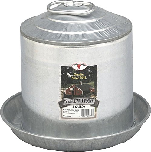 Miller Manufacturing Double Wall Fount (Water Heater Base For Chickens compare prices)