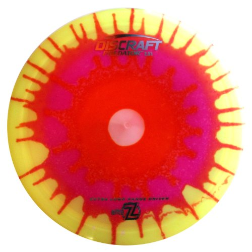 Discraft Predator Elite Z Fly Dye Golf Disc, 167-169 ()