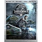 Jurassic World 3D (Blu-ray 3D / Blu-ray / DVD / Digital HD) (Blu-ray) (Bilingual)