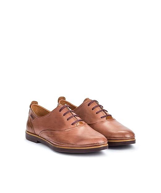 PIKOLINOS Zapato Plano de Piel Santorini W3V: Amazon.es: Zapatos y complementos