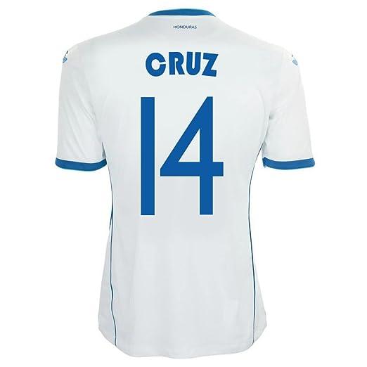 40b0deef7f9 Amazon.com  Joma Cruz  14 Honduras Home Jersey World Cup 2014 ...