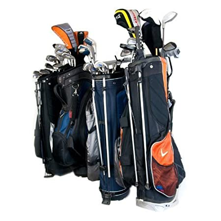 Mb Wall Mount Golf Bag Storage Rack Stand by Monkey Bar  sc 1 st  Amazon UK : golf bag storage stand  - Aquiesqueretaro.Com